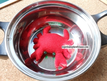Feutrine - Crabe
