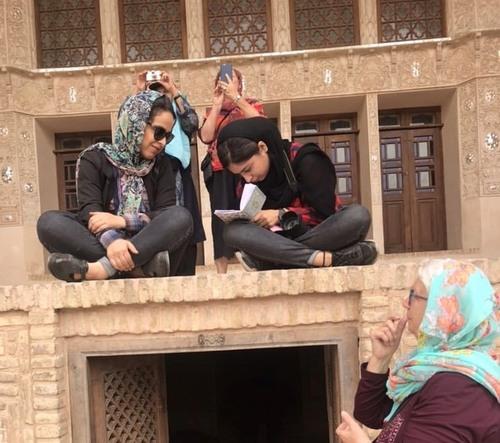 la maison des Tabatabaei à Kashan