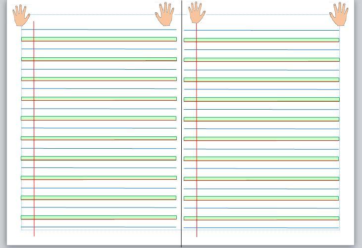 """Célèbre Des lignes """"seyes"""" en couleur pour les CP - Véro à l'école DA88"""