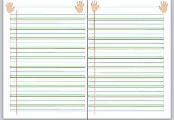 Des lignes en couleur pour les CP herbe terre ciel