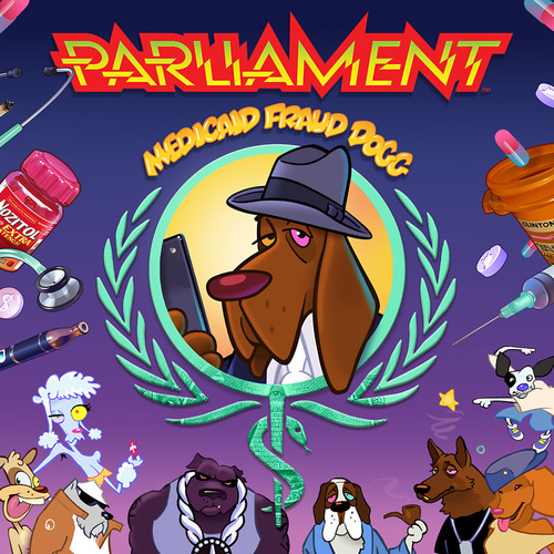 Parliament - Medicaid Fraud Dogg (2018) [Nu-Funk, Nu-Soul]