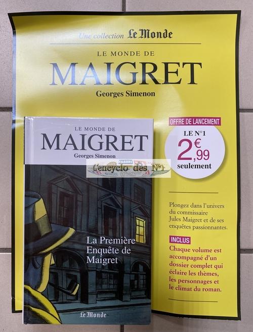 N° 1 Le monde de Maigret - Test
