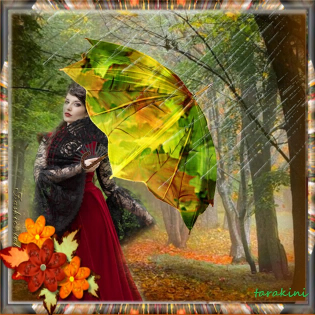 la couleur du mois : pluie