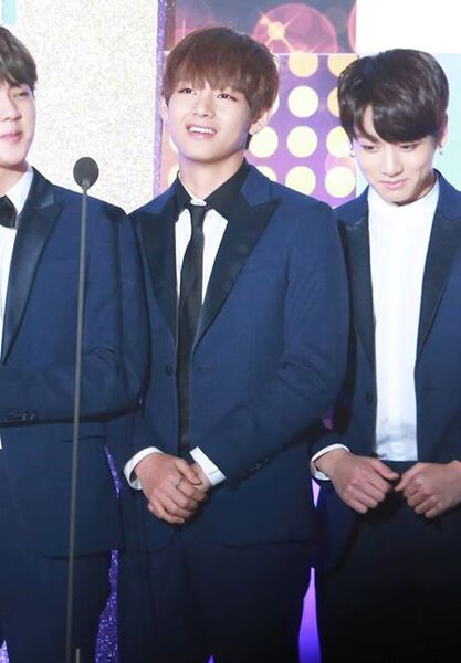 14/01/2016 Seoul Music Awards J-Hope,Jin & V