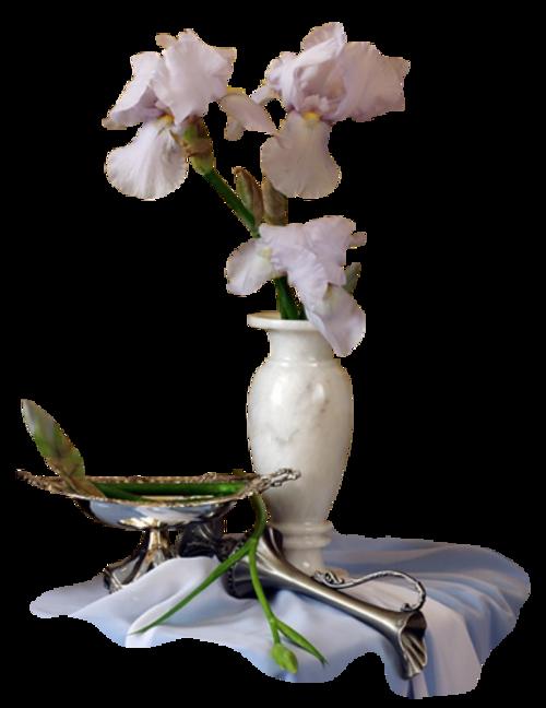 Fleurs dans vase 3