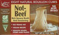 Bouillon cubes Not beef (pas du boeuf) - biologique