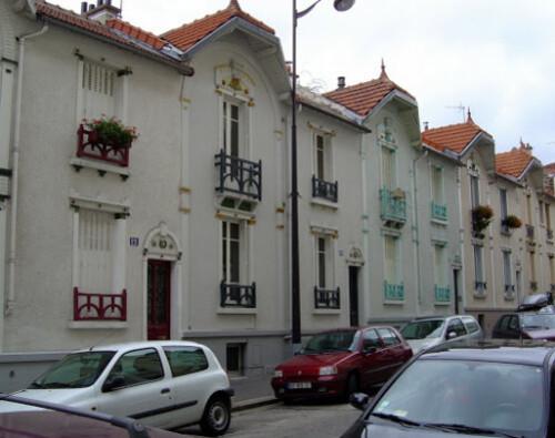 HBM Pavillonnaires de la rue Henri Pape