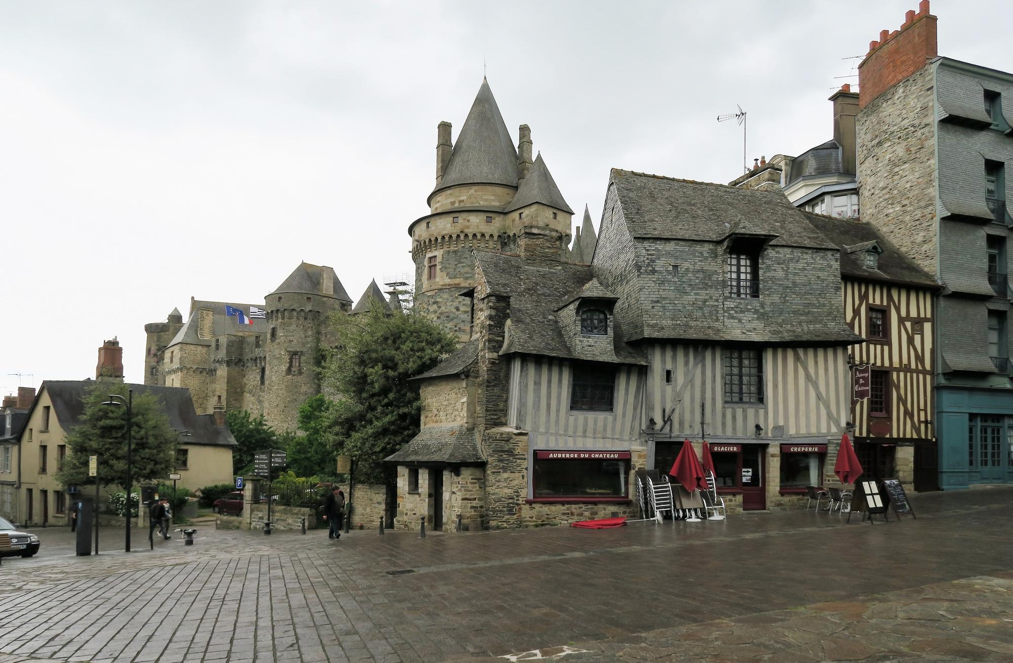 VITRÉ : Le château