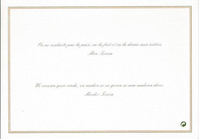 Voeux de la princesse Lea de Belgique