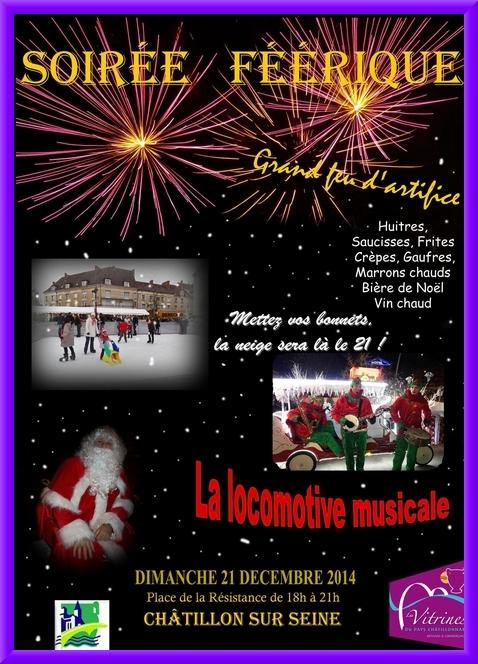 Retenez votre soirée du dimanche 21 décembre !