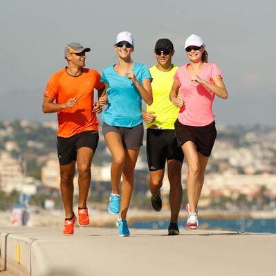 La course à pied : défauts d'un débutant