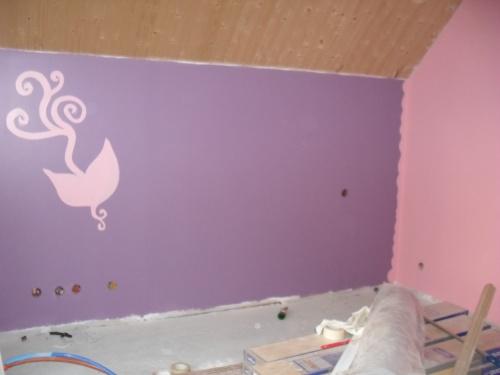 Attrayant Chambre Violet Et Rose Chambre Rose Et Violette Chambre Bb Petite Bonnes Idees