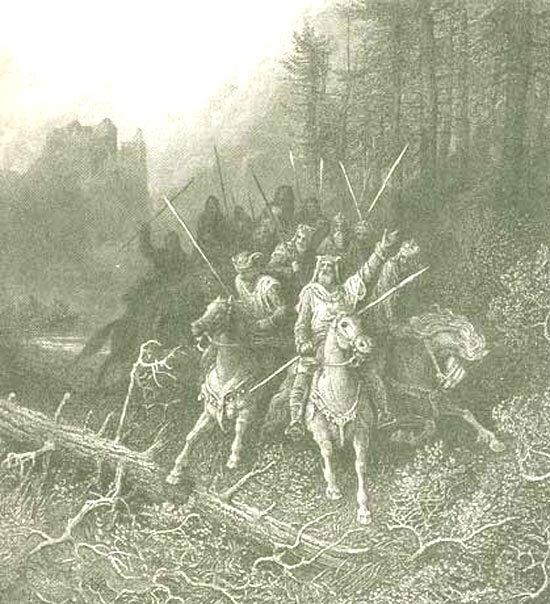 Le roi Arthur et ses chevaliers