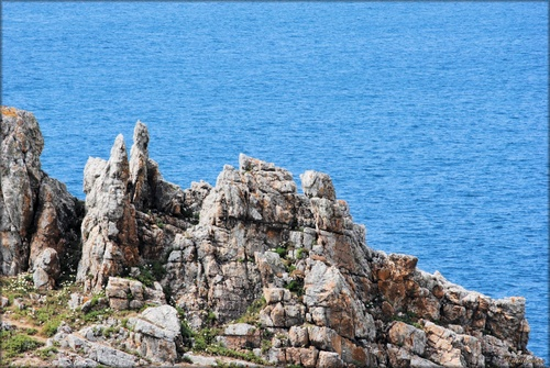 Photo de la presqu'île de Crozon à Camaret dans le Finistère
