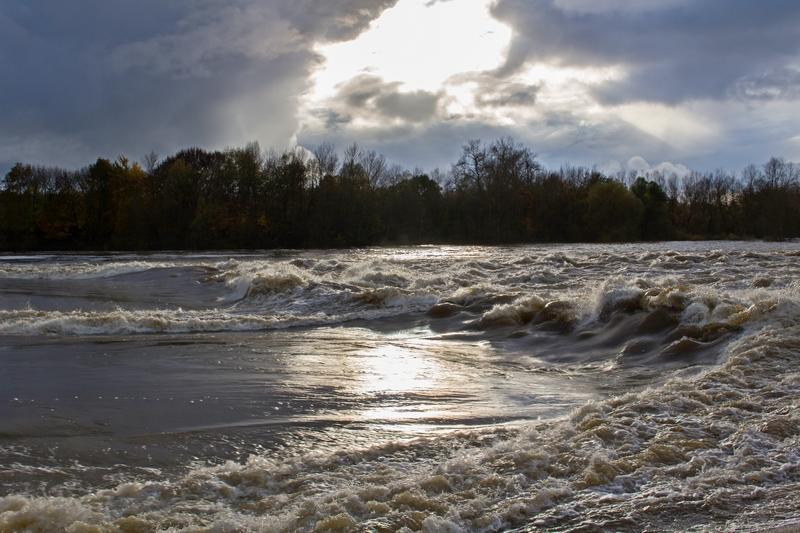 La Loire en crue