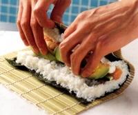 recette maki saumon avocat 5