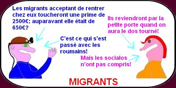 Pendant que la droite débat , la gauche vide les coffres pour les migrants?