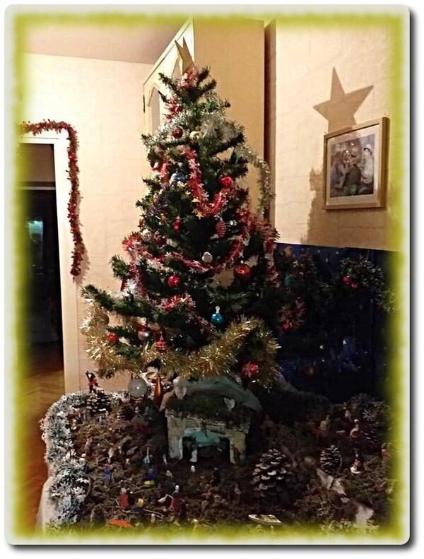 Première déco de Noël