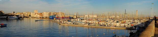 Le port à Sète