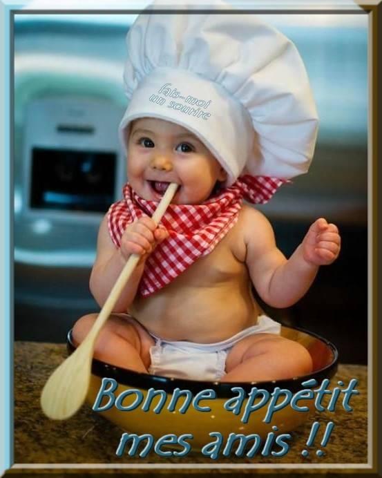 Bon appétit mes amis !!