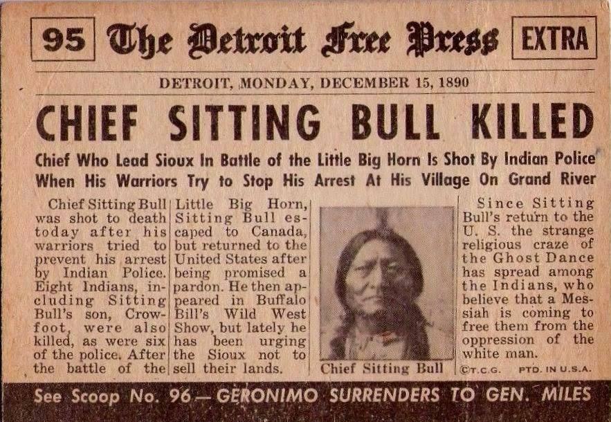 Sitting Bull Les Indiens D Amérique Du Nord