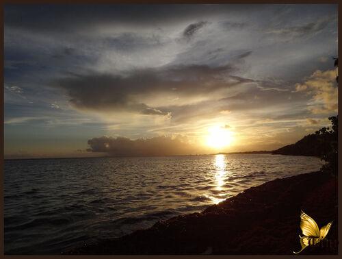 Couchers de soleil sur la Guadeloupe