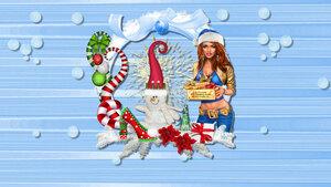 Fonds D'écrans Noël 3