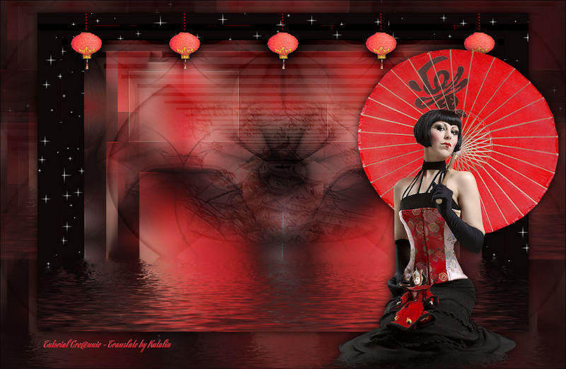 Tutorial Cre@nnie ~ Oriental Lady