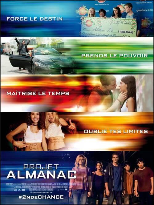 PROJET ALMANAC - Tentez l'expérience avec la bande-annonce ! Au cinéma le 4 Février 2015