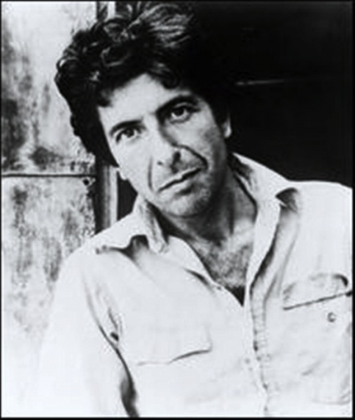 * Leonard Cohen ~ here it is