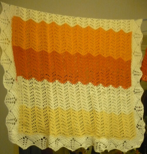 Le chemin de table au crochet