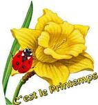 Aujourd''hui c'est le printemps!!!!!!!!!!