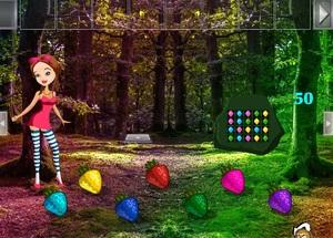 Jouer à Teen girl forest escape