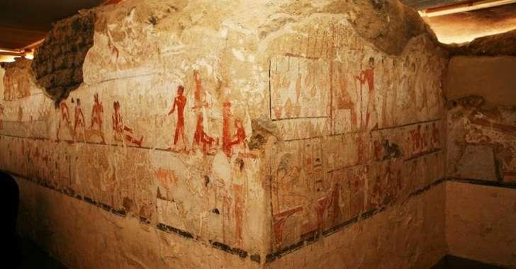 La tombe d'une puissante prêtresse égyptienne découverte à Gizeh