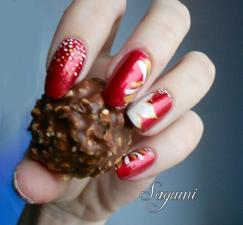 Nail Art de Noël 2012
