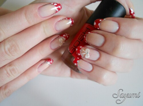 Nail Art 3D - Tanaka Reina inspired nails 2