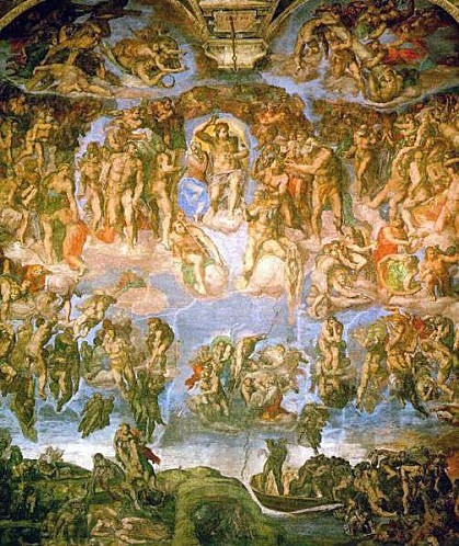 pxMichelangelo Fresco of the Last Judgement