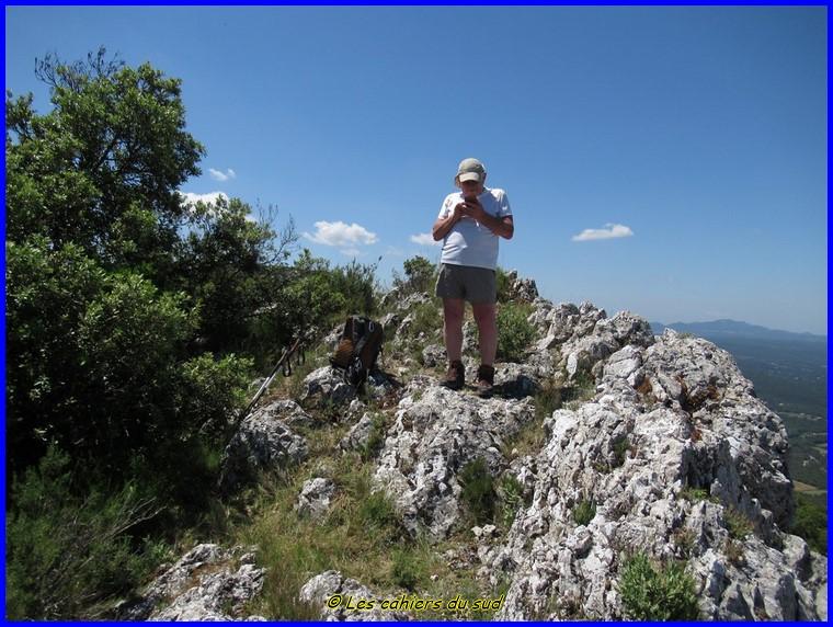 Mont Olympe, le rocher de Onze heures