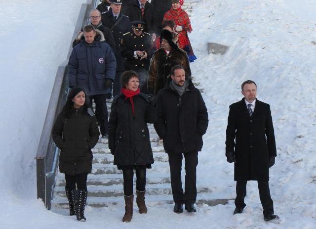 Haakon chez les samis