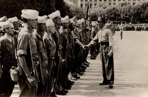 * Photos souvenirs du 22ème Bataillon de Marche Nord Africain - memoiredfl