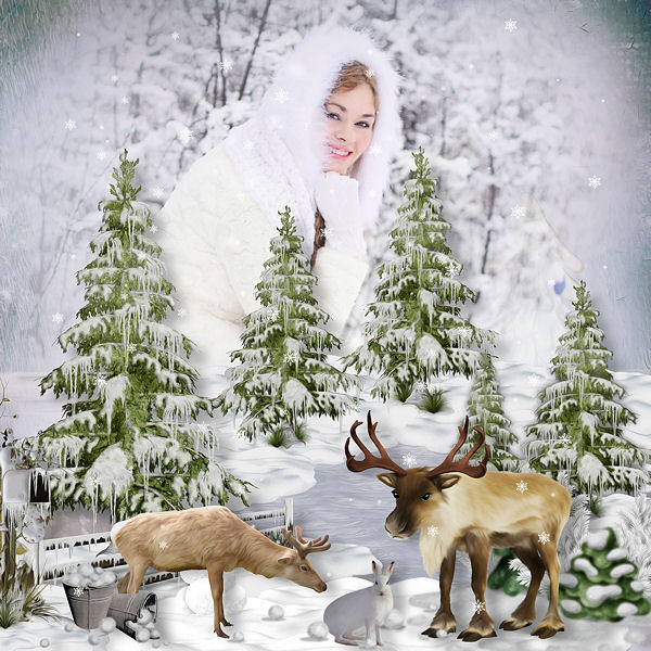 WINTER MAGIC by SCRAP'ANGIE