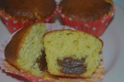 Muffins à la pâte de spéculoos
