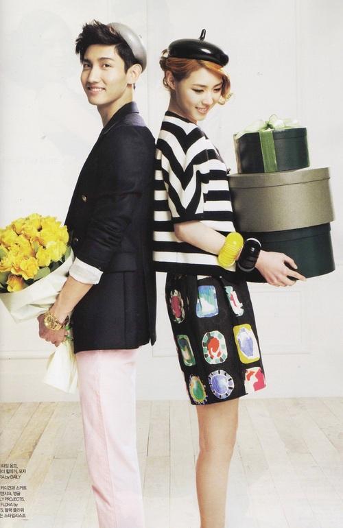 Chang Min et Lee Yeon Hee pour Céci
