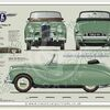 Sunbeam Talbot 90 MkIIA convertible1952-54 classic car portrait print