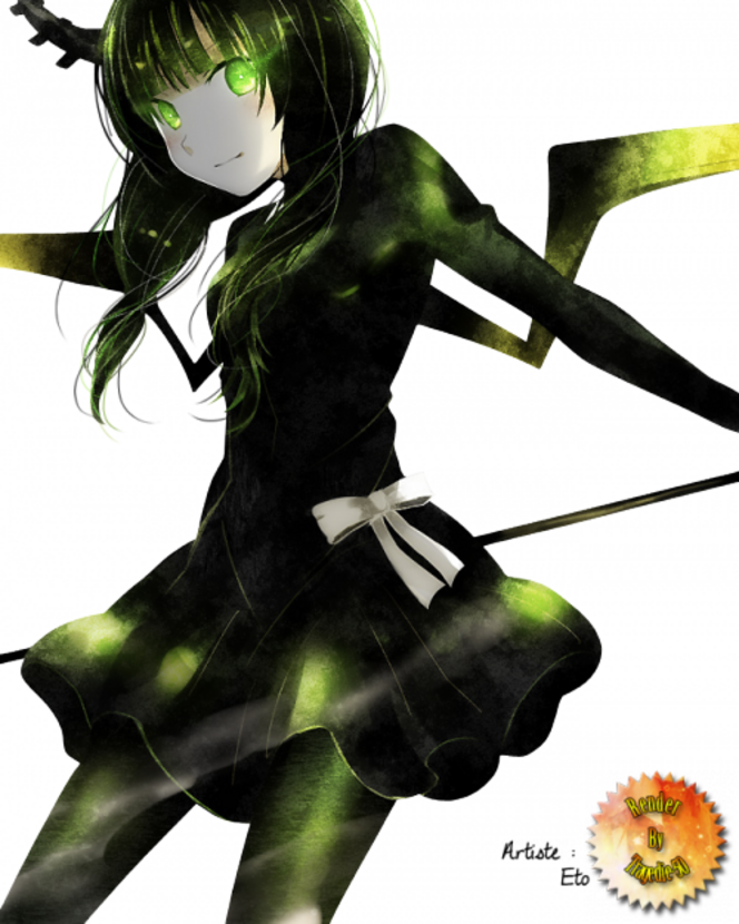 Renders: Black Rock Shooter.