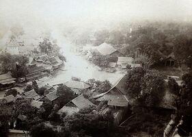 Klong Banglumpoo, Bangkok 1880 Image source eclectic-paper, United States