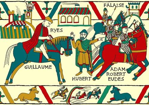 La vie de Guillaume le Conquérant (I-B)