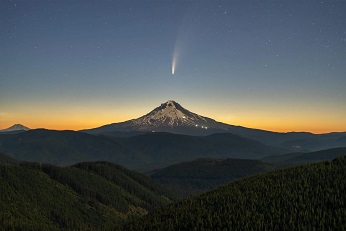 La comète neowise ..