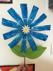 fleur de recyclage