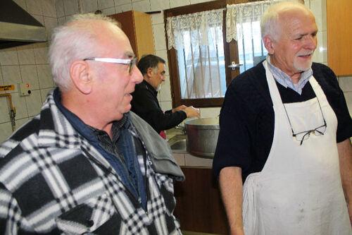 Repas chèvre  10 Décembre 2016 unitalia 74300 Cluses